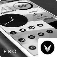Dark Void - Black Circle Icons (Pro Version) 2.8.6 APK Apps Personalisation