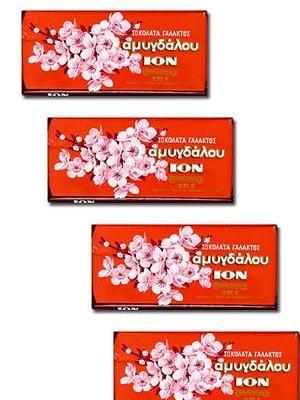 σοκολάτα ION αμυγδάλου
