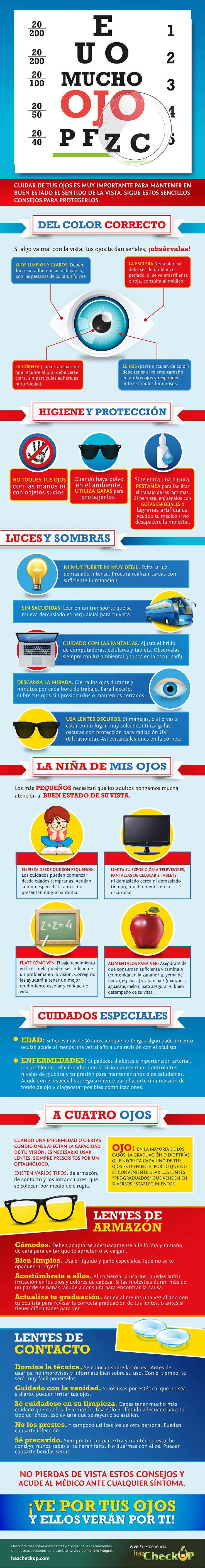 ¡Tu salud visual y la de tu familia son muy importantes! Por eso tener los cuidados adecuados te ayudarán a estar bien