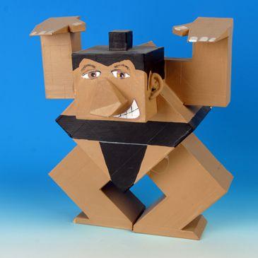 """Cubed"" Churchill High School - Visual Art 3D"