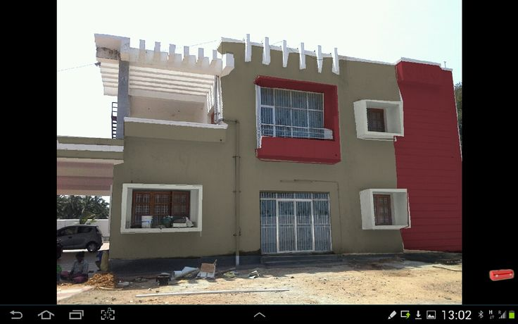 Front Elevation Color : House elevation colour combination pixshark
