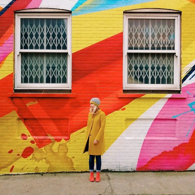 xantheb on Instagram - Wearing @boden in Shoreditch, London.