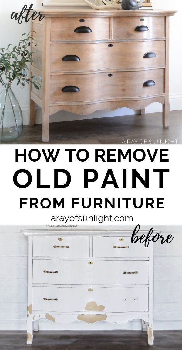 Paint From Your Old Wood Furniture