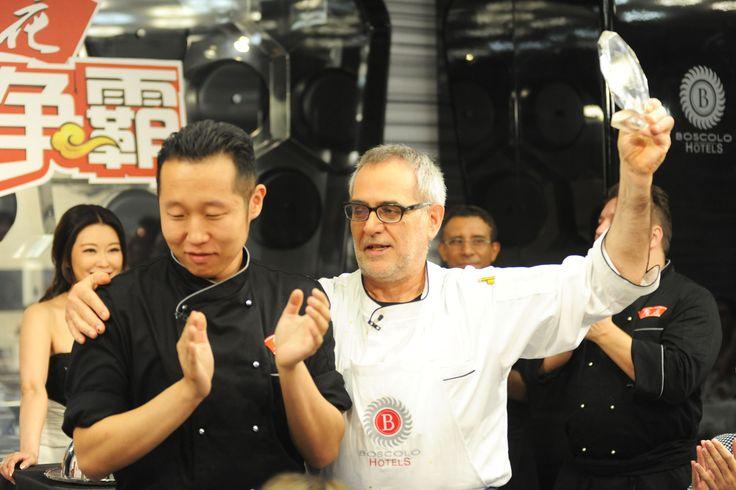 #GreatestChefChina: the chinese #MasterChef in Italy at #BoscoloHotel. A #Tecnomovie - #TriumphGroupInt format. #SalvatoreTassa's victory (http://www.salvatoretassa.it/).