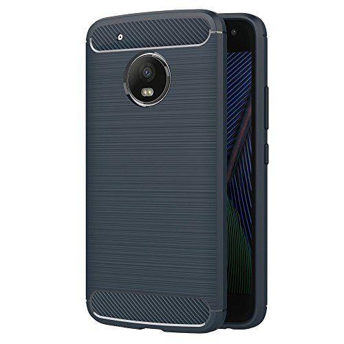 Funda Moto G5, AICEK Azul Silicona Fundas para Lenovo Motorola Moto G5 Carcasa Moto G5 Fibra de Carbono Funda Case (5,2 Pulgadas) #Funda #Moto #AICEK #Azul #Silicona #Fundas #para #Lenovo #Motorola #Carcasa #Fibra #Carbono #Case #Pulgadas)