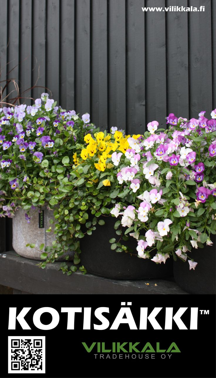 Store your precious home items or use as a garden bag! #Kotisäkki