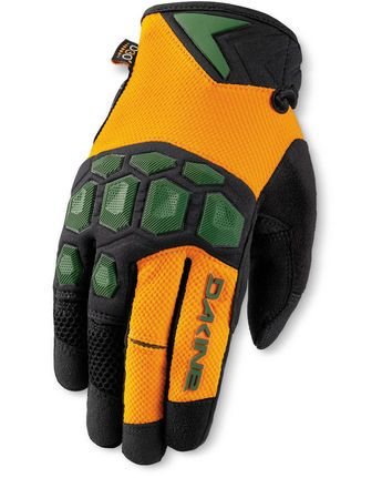 Dakine Mens Sentinel Mountain Bike Gloves - Orange