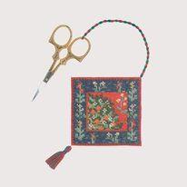 Kit point de croix réf. 3361 Porte-ceseaux Collection médiévale