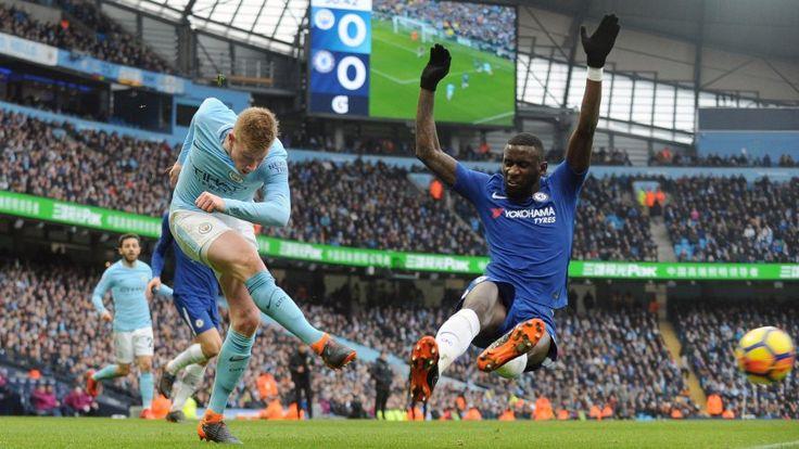 Premier League: Chelsea mauert sich gegen City zur Niederlage - SPIEGEL ONLINE - Sport