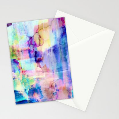 Oceans Stationery Cards by Amy Sia   Society6