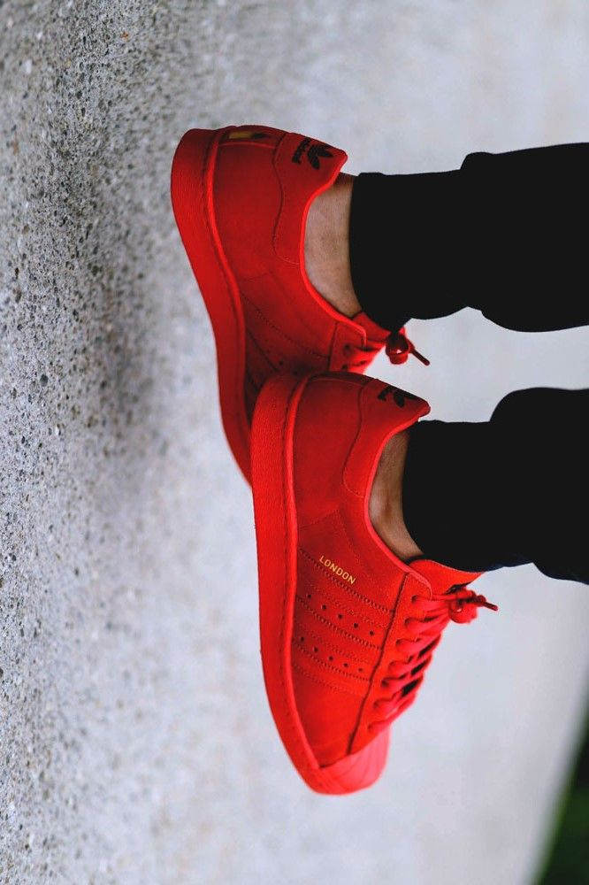 Buy adidas superstar 80s Donna red >off32%)