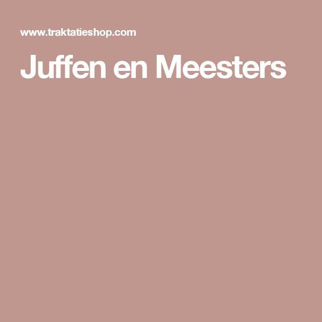 Juffen en Meesters