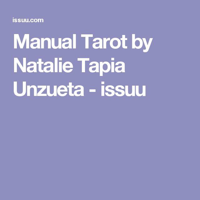 Manual Tarot by Natalie Tapia Unzueta - issuu