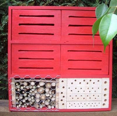 ber ideen zu insektenhotel bauen auf pinterest insektenhotel nisthilfen und. Black Bedroom Furniture Sets. Home Design Ideas