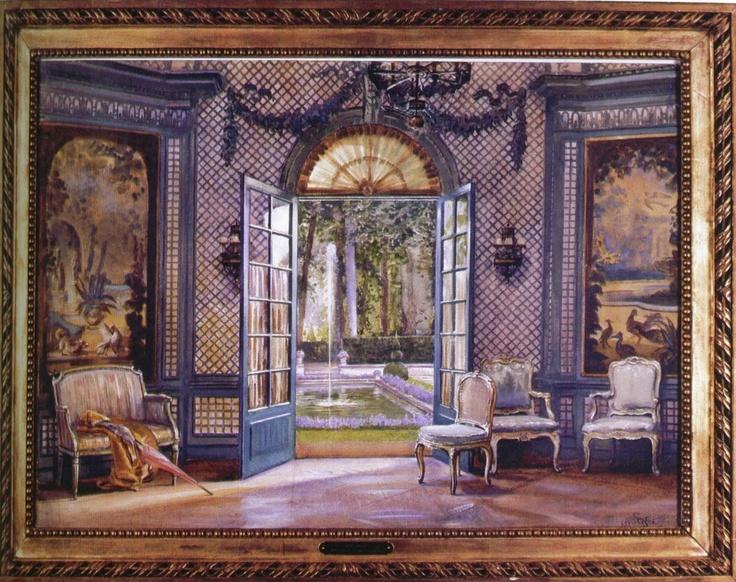 The Colony Club Trellis Room by Design Icon: Elsie De Wolfe