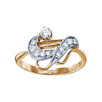 Золотое кольцо  10880RS http://topchasy.ru/index.php?route=product/product&product_id=175485  Price:  69 020.00 р.Кольцо с бриллиантами. 1 бриллиант 0,12 карат; 7 бриллиантов 0,14 карат; 3 бриллианта 0,1 карат. Материал: красное золото 585 пр. Средний вес: 4.1 гр..
