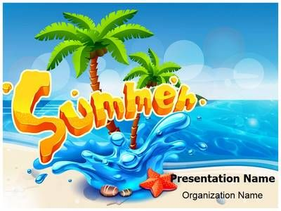 26 best travel powerpoint templates images on pinterest edit text check out our professionally designed summer beach concept ppt template download our toneelgroepblik Images