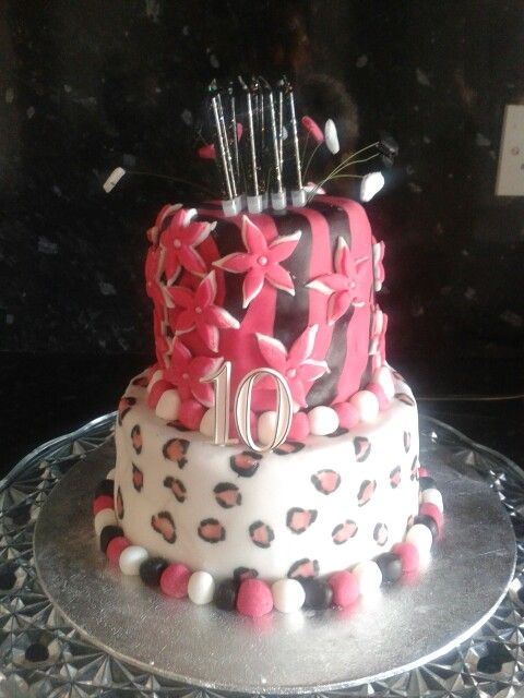 #dunelmbakeoff the cake I made for my daughter's birthhday last week