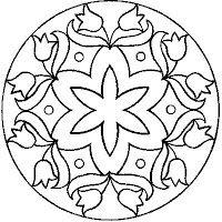 mehndi henna mandala . All Things Parchment Craft: My Free Patterns