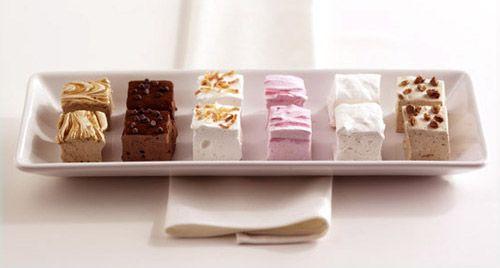 Flavor ideas for homemade marshmallows- Jake's favorite inexpensive, peanut-free classroom treat.