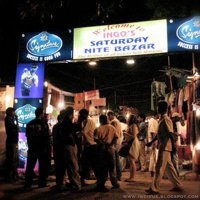 Ingo's Saturday Nite Bazar in Goa, India