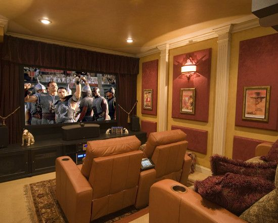 28 best images about ideas for the house on pinterest for Small room movie theater
