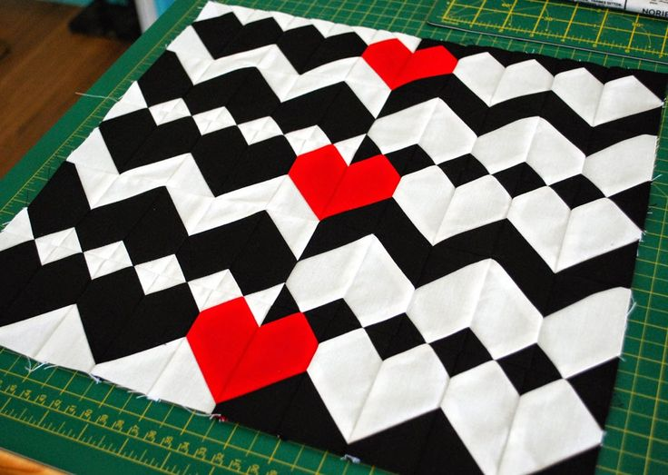 Hope's Quilt Designs ZigZag Love Pattern