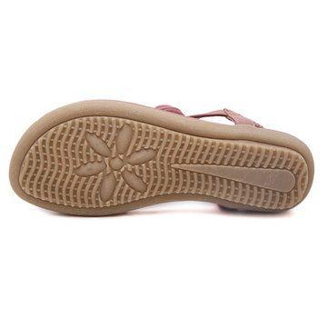 Bohemia Rhinestone Casual Beach Flip Flops Sandals - US$24.63