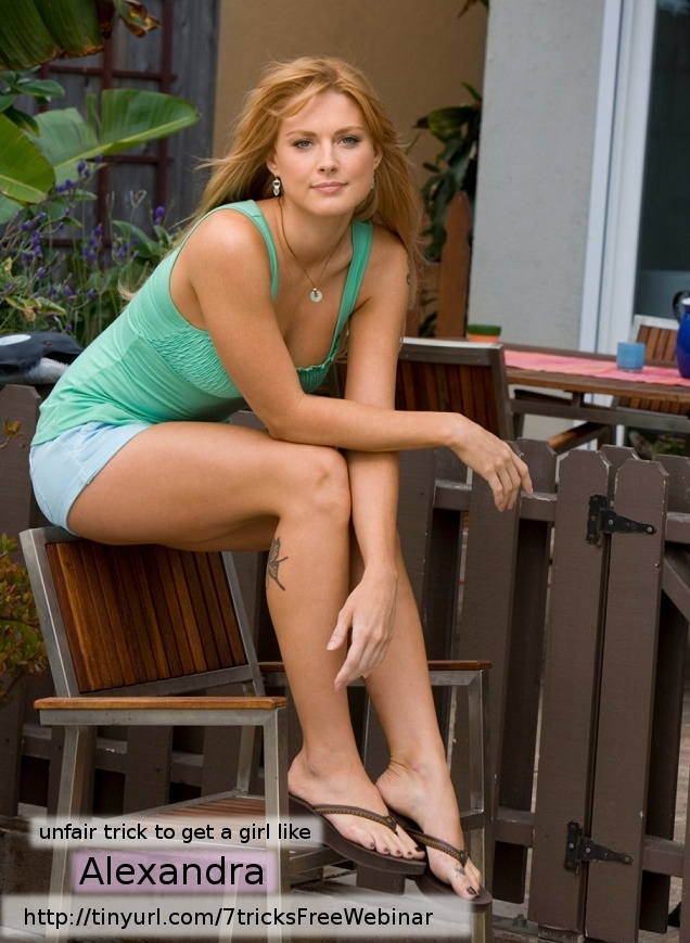 Alexandra Breckenridge hot