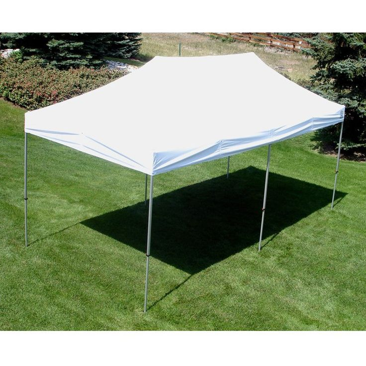 UnderCover® 10 x 20 ft. Super Lightweight Aluminum PARTY Instant Canopy - UC-3X20W