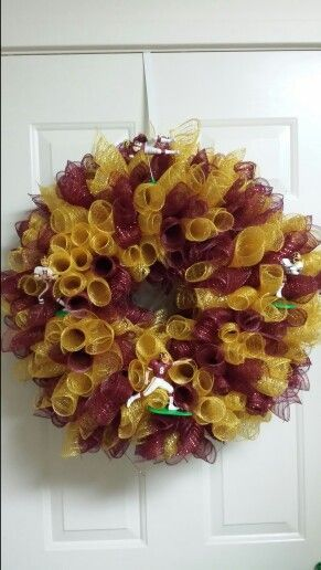 Another great Redskins wreath idea. #HTTR