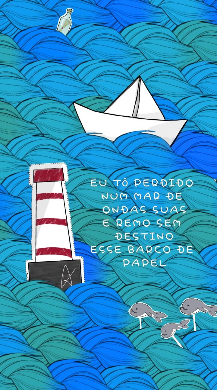 Barquinho De Papel Barcos De Papel Barquinho De Papel Anavitoria Wallpaper
