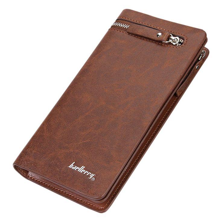 $5.74 (Buy here: https://alitems.com/g/1e8d114494ebda23ff8b16525dc3e8/?i=5&ulp=https%3A%2F%2Fwww.aliexpress.com%2Fitem%2FMen-s-PU-Leather-ID-Card-Holder-Zip-Long-Wallet-Purse-Clutch-Checkbook-Billfold-Light-Coffee%2F32758282589.html ) Men's PU Leather ID Card Holder Zip Long Wallet Purse Clutch Checkbook Billfold Light Coffee for just $5.74