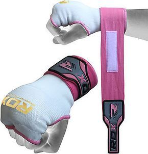 Rdx ladies gel #inner hand #wraps gloves boxing fist pink #bandages mma women gym, View more on the LINK: http://www.zeppy.io/product/gb/2/200859194850/