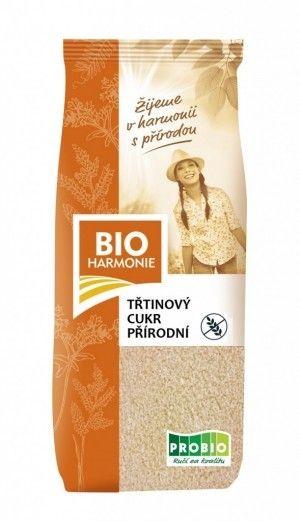 BIO HARMONIE bio cukier trzcinowy NIERAFINOWANY 500g ekosklepkrainazdrowia.pl