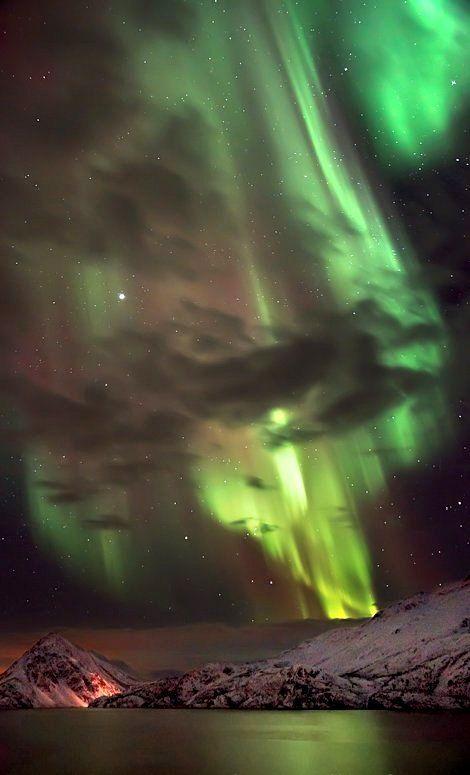 Northern lights.. Near Alta, Norway | by TonyLeBastard