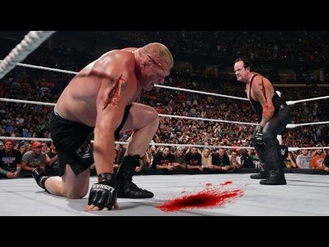 Bloodiest Match Ever | The Undertaker vs Brock Lesnar| Hell in a Cell | FULL Match HD