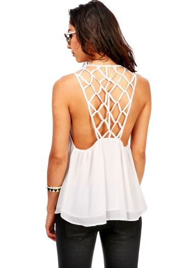 Havana Knot Tank Top | Cute Tops at Pink Ice