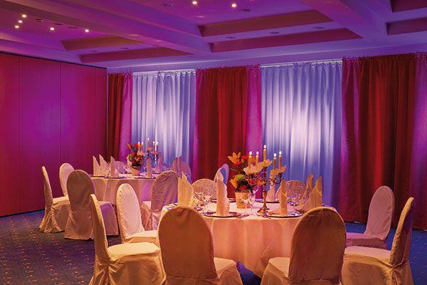 Festsaal / Banquet hall | H+ Hotel & SPA Friedrichroda