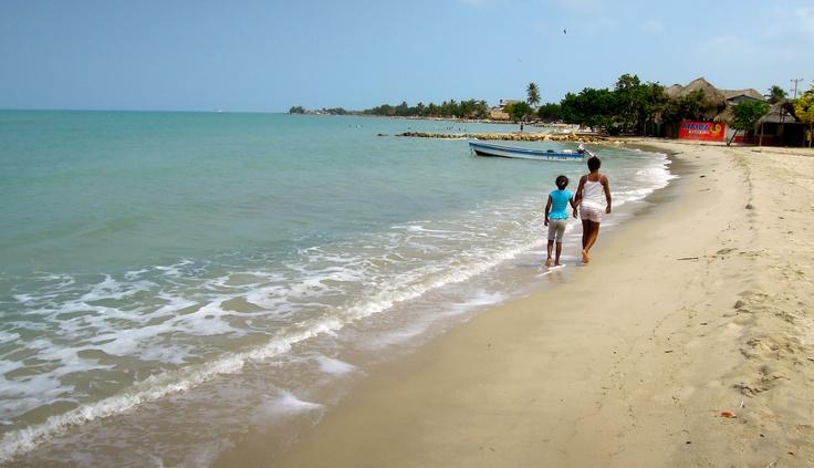 Rincon del Mar (3 hours from Cartagena, bus Cartagena - San Ofre, Mototaxi to Rincon del Mar)