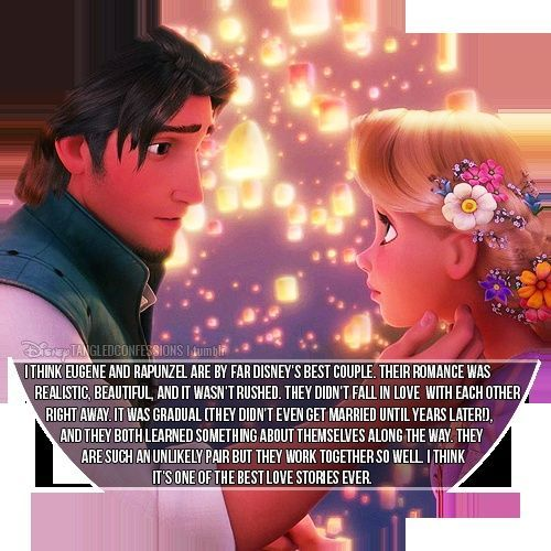 definitely one of my favorite Disney couples <3
