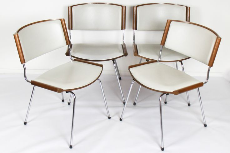 Set of Four Dining Chairs // By Nanna Ditzel // Denmark // 1958 - Wall - Greedfineart.com
