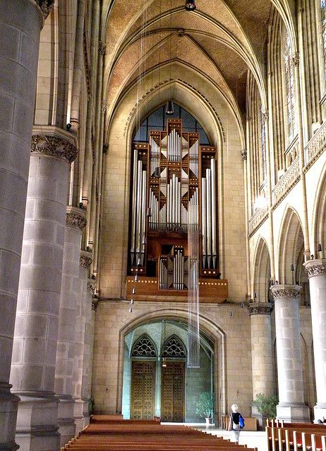 Linz, Mariendom Orgel -Upper Austria