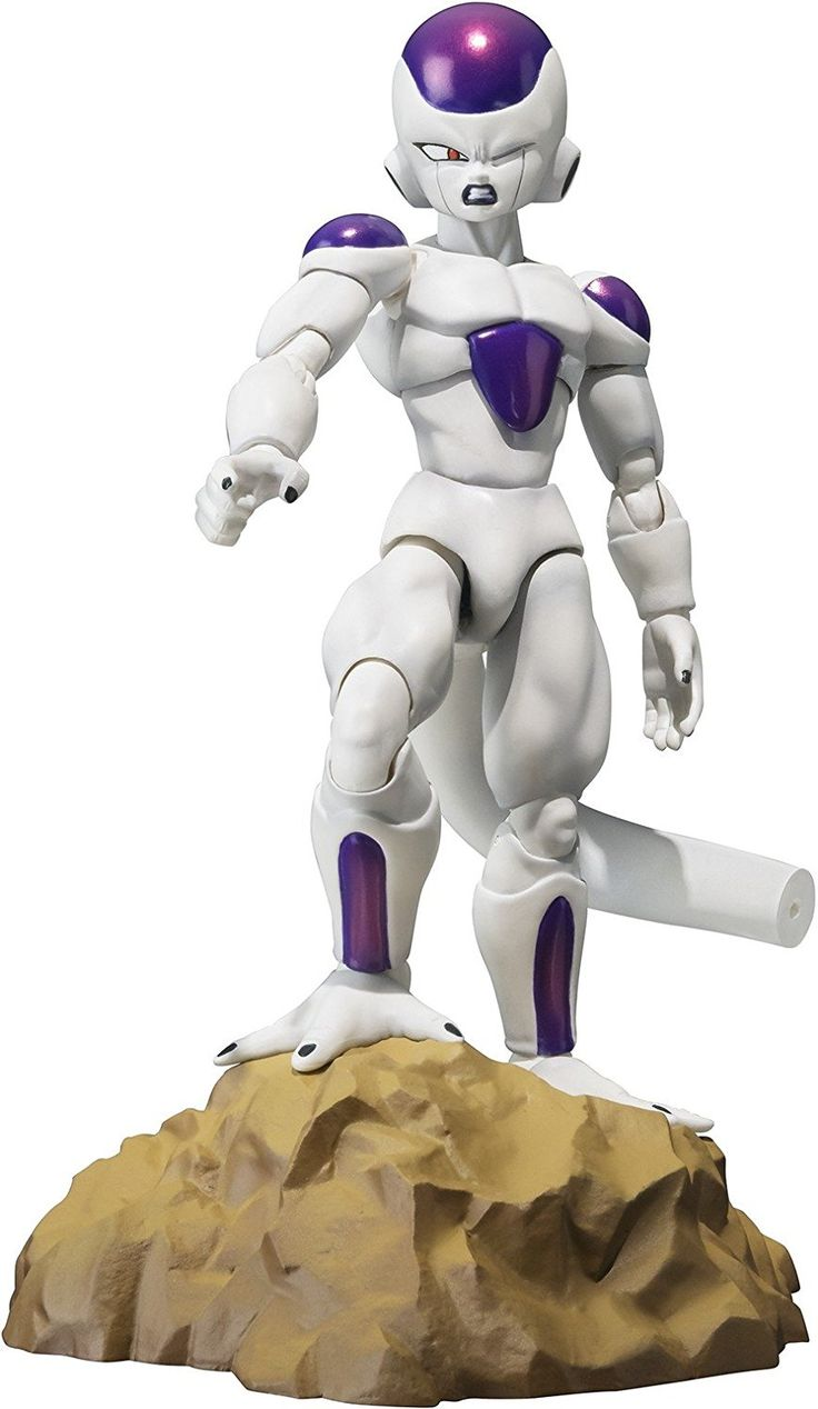 "Amazon.com: Bandai Tamashii Nations Frieza Final Form ""Dragonball Z"" S.H.Figuarts Action Figure: Toys & Games"
