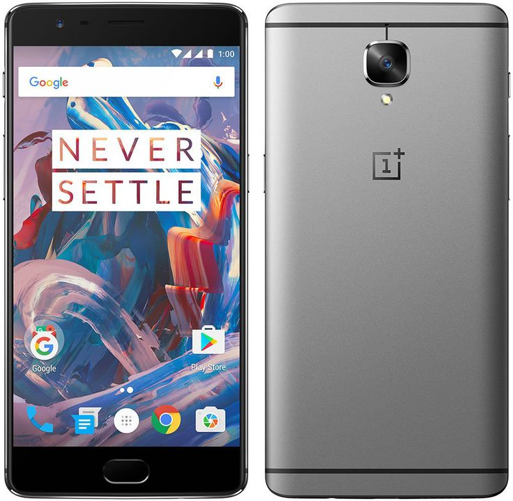 """ONEPLUS 3 GRAPHITE 6GB/64GB 2.2GHz QUAD CORE 5.5"""" FHD SCREEN ANDROID 6.0 4G LTE SMARTPHONE - HERBETRADE SAFE TRADE ON NET CELLPHONE STORE"""