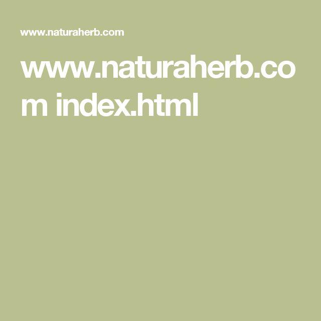 www.naturaherb.com index.html