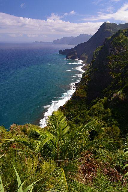 Het prachtige groene Madeira