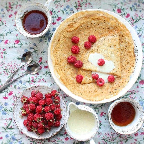 Summer breakfast - Postcards, Delicatessen