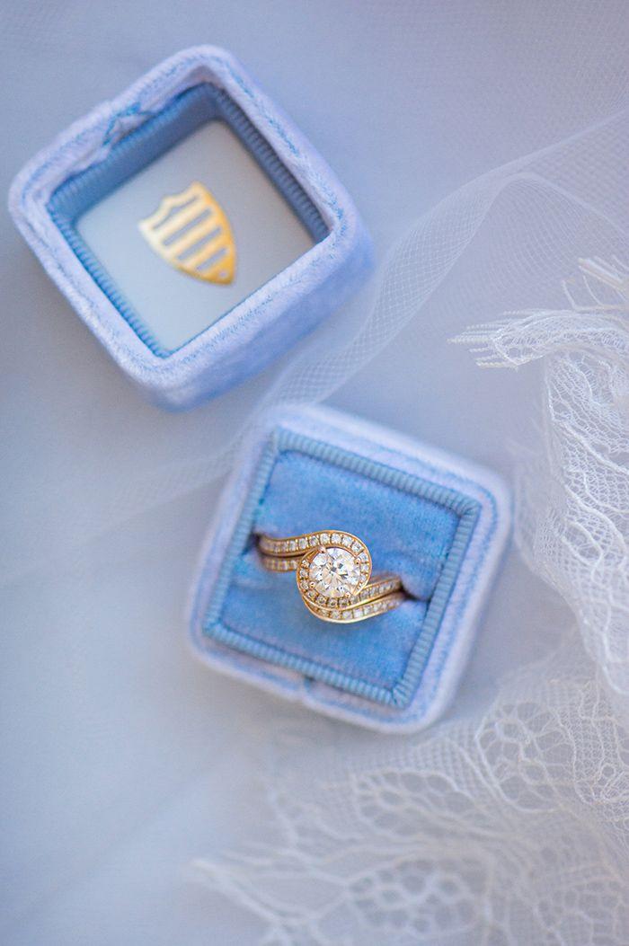 Vintage Gold Spiral Engagement Ring