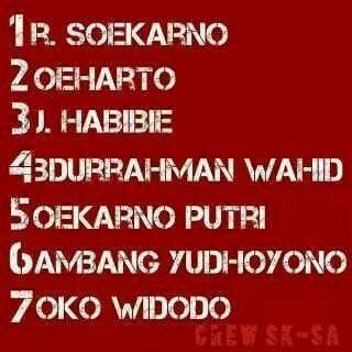 Presiden RI ke-7: Ir. Joko Widodo (Jokowi) #SalamDuaJari ---   10AlasanMemilih @Jokowi_do2 http://www.pinterest.com/pin/313211349058345997/ pic.twitter.com/5OhPyzqnM5 Goyangan #Jokowi vs #Prabowo;-D http://www.youtube.com/watch?v=eWWh9UfuCpQ #Salam2Jari Jokowi Presiden ke-7: pic.twitter.com/coBoqGhAKp